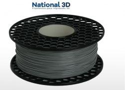 Filamento PLA MAX | CINZA CLARO | 1,75mm | 1kg