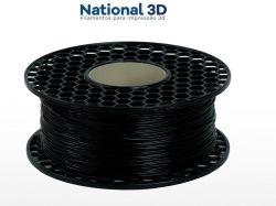 Filamento TPU FLEX SHORE 95A | PRETO | 1,75mm | 1kg